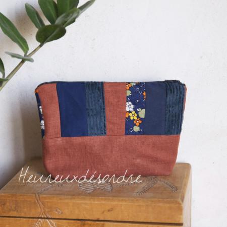 Trousse patchwork